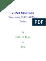 Basics Using Matlab Fuzzy Toolbox