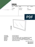 Sony Pfm 42b2