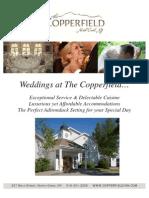 Copper Field Inn Wedding Brochure 2011