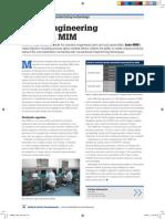 Value engineering through MIM > Medical Device Developments