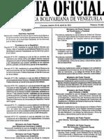 Gaceta 39660 (Decreto Salario Minimo y Cesta Ticket) 26-4-2011