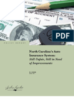 North Carolina's Auto Insurance System