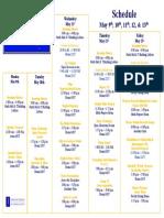 Research Creativity Schedule