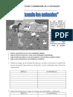 GUÍA DE ESTUDIO Y COMPRENSIÓN DE LA NATURALEZA animales