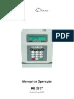 Manual RB 2707 v3.0
