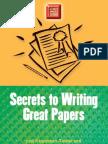 Secrets to Writing Great Papers - Judi Kesselman-Turkel