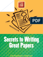 Secrets to Writing Great Papers - Judi Kesselman-Turkel