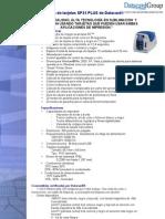 Especificaciones y Caracteristicas de la Impresora SP25 PLUS