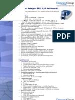 Especificaciones y Caracteristicas de la Impresora SP55 PLUS