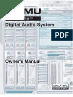 E-MU 1616 Pcmcia Owners Manual