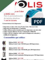 Impresora Evolis Dualys 3 Dual y Consumibles que Utiliza