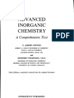 Cotton-Wilkinson - Advanced Inorganic Chemistry