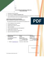 Application Form Cis