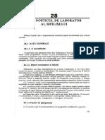 28.Diagnosticul de Laborator Al Sifilisului