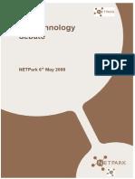 Panel Profiles - Biotechnology Enent