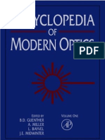 Encyclopedia of Modern Optics, Five-Volume Set, Volume 1-5