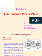 Gas Turbine Power Plant Final