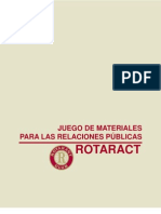 Rotaract - Rrpp Kit