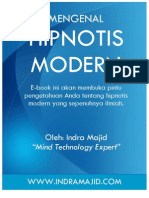 Mengenal Hipnotis Modern