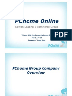 Pchome Presentation