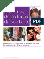 Lecciones de las líneas de combate. Intervenciones en América Latina con MSM Iniciative de amfAR