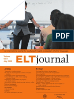 ELT Journal July 2009
