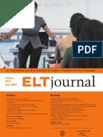 ELT Journal July 2009