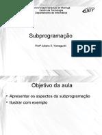 Aula04_Subprogramacao
