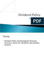16. Dividend Policy