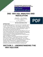 Understanding an -805