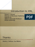 XML Tutorial