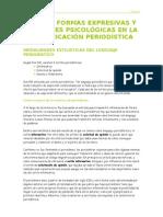 Tema 3.Formas Expresivas y Actitudes Psicologicas en La Comu