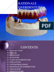 Rationale of Over Dentures - Copy