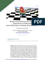 2009 Histórias de Professores de Línguas e Experiências com Racismo. Autora