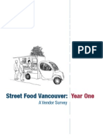 Vancouver Street Food, Year One