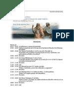 Programa de Coloquio Platon y Aristoteles en Discusion