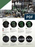 Painting Orks Warhammer 40k