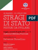 Borsellino a Foggia