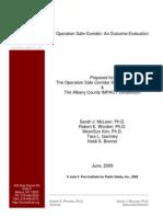 OSC 2009 Final Report