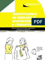 Identificando mi mercado y aprendiendo a comunicarnos. Módulo básico de gestión empresarial y desarrollo local