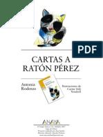 Fichas Cartas Raton Perez