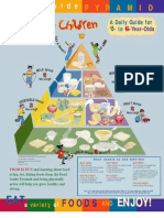 Food Pyramid for Toddlers