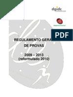 Regulamento Geral Provas 0913 Re Formula Do 2010