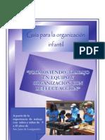 Guia de Organización Infantil por Carmen Mellado