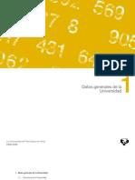 UPV en Cifras Datos Generales
