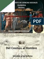 Los Sofistas y Socrates- Historia de la filosofia Decimo San Martin de los Llanos Meta