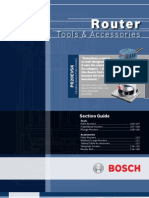 Bosch Routers Catalog
