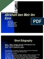 Abraham Ben Meir Ibn Ezra