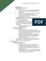 Criminal Procedure Textbook Outline
