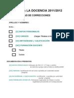 IID - Solicitud de Correcciones